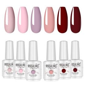 Rosalind 15ml Rose Pink Red Nail Polish Gel