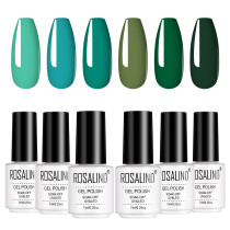 Copy Rosalind 7ML 6PCS Carnival Evergreen Nail Gel Kits