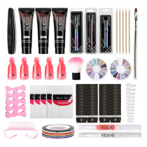 Rosalind Acrylic Poly Gel Nail Art Kit False Nail Tips Nail Art Decoration Tools