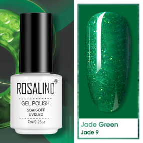 Rosalind 7ML Jade Green Nail Polish