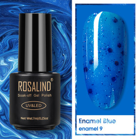 Rosalind 7ML Enamel Blue Nail Gel