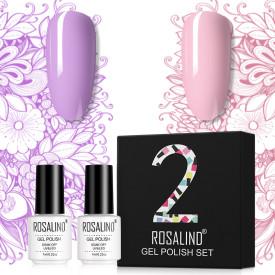 Rosalind 7ml 2Pcs/Box Mix Color Gel Polish Gift Set