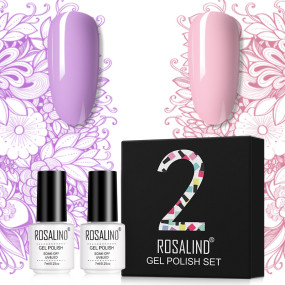Rosalind 7ml 2Pcs/Box Mix Color Gel Polish Gift Set