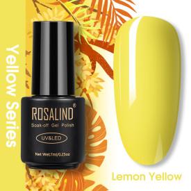 Rosalind 7ML Yellow Autunm Season Series Nail Gel