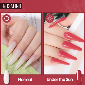 Rosalind 30ml Light-Changing Nail Builder Gel Nail Enhancement Poly Gel