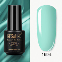 Rosalind 7ml Pure Glitter Color  Nail Gel Polish