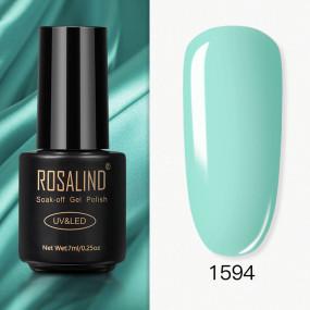 Rosalind 7ml Pure Glitter Color  Nail Gel Polish