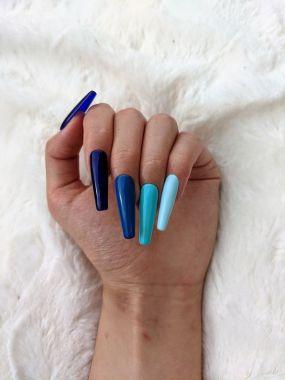 Rosalind 7ml Ocean Blue Color Nail Gel