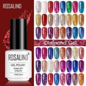 Rosalind 7ml Diamond Series Gel Nails Polish