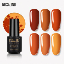 Rosalind 7ml Pumpkin Color Nail Gel Polish