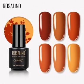 Rosalind 7ml Pumpkin Color Nail Gel Polish