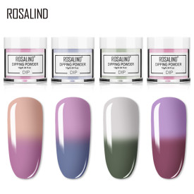 Rosalind 10g Dip Powder Changing Color Nail Art