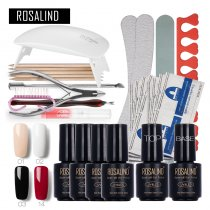 Rosalind 7ML Nail Kits 17PCS/LOT