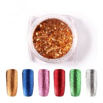 Shiny Galaxy Nail Glitter Magic Effect Powders