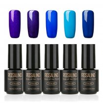 Gel Nail Polish  5 PACK,7ml(Blue)