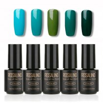 Gel Nail Polish  5 PACK,7ml(Green)