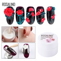 Carved Patterns UV Nail Art Polish All For Decoration