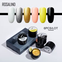 Rosalind 5ML (6PCS/LOT) Spider Stamp Gel Set Gel Paints