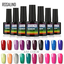 Rosalind Rainbow Shimmer Holographic Neon Glitter Nail UV Gel