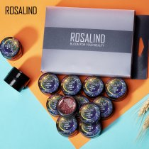 Rosalind 12 Pcs/Lot  5ML Shiny Rainbow Gel Set