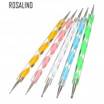 Rosalind 5Pcs/Pack Professional Dotting Nail Tools