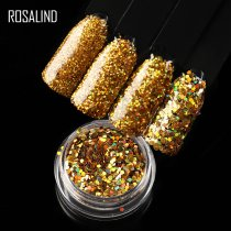 Rosalind Sequin Holographic Chrome Nails Accessoires