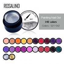 ROSALIND 5ML Painting Gel Varnish 142 Color Options For Manicure DIY Nails Hybird Design Of Nail Art Spider