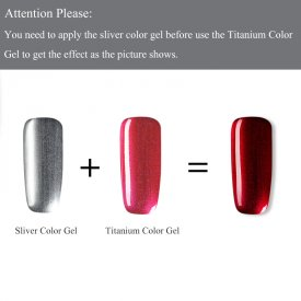 Titanium Gel Nail Polish