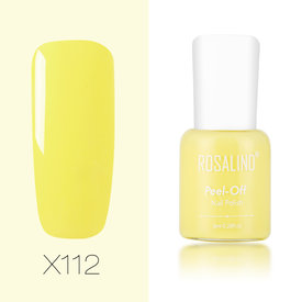 Pure Color Nail Polish Peel Off Nail Lacquer