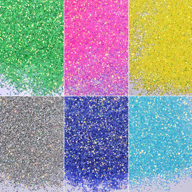 ROSALIND Candy Nail Glitter Powder Semi Vernis Permanent Nail Art DIY Decorations