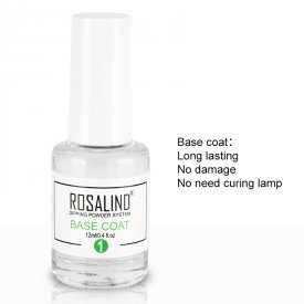 Rosalind Dip System Activator &Top Coat &Base Coat &Brush Restorer For Dipping Powder Primer