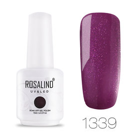 ROSALIND Big Bottle Gelish Classic Nail Gel NAIL UV LED Soak Off Nail Gel Polish Manicure Pedicure 15ml 60 Colours