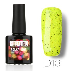 ROSALIND Candy Cheese 10ML Gel Nail Polish Professional Nail Art Design Semi-permanent Soak Off UV LED Cheese Candy Gel Lacquer Polish