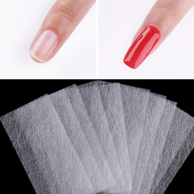 ROSALIND Non-woven Silks Nail Extension 5/10pcs/lot Quick Builder Gel Nail Art Design For Building Fiberglass Nails Manicure