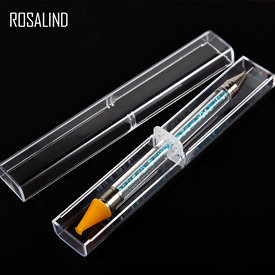 1 Pc Dual-ended Dotting Pen Rhinestone Studs Picker Pencil Crystal Beads Handle Nail Art Tool