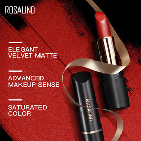 ROSALIND Matte Lipstick Cosmetics For Make up Matt Lipstick Long-Lasting 10 Colors Waterproof Full Professional Makeup Lipstick