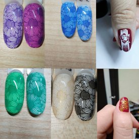 5ML Stamping Gel Stamp Nail Art