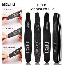 ROSALIND Nail Files Full Professional Pedicure Manicure Buffer Tools Manicure Pedicure Nail Art Tool