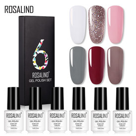 Rosalind 7ML 6PCS Gel Nail Set Nail Kit