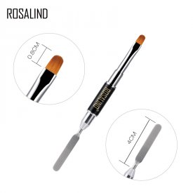 ROSALIND Double Head Brush Tools Poly Gel Nail Dual-ended Extension Pen