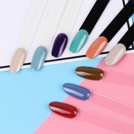 Rosalind False Tips Color Card Nail Display Tools