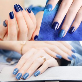 Blueberry Color Nail Gel