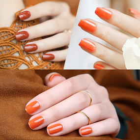 Punpkin Color Nail Gel