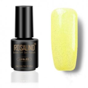 Yellow Diamond Glitter Nail Gel
