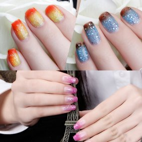 Temperature Changing Glitter Nail Gel