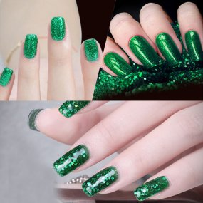 Rosalind 7ml Green Diamond Nail Gel