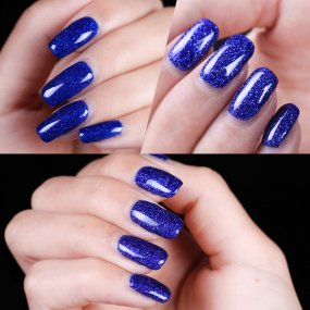 Blue Diamond Glitter Nail Gel
