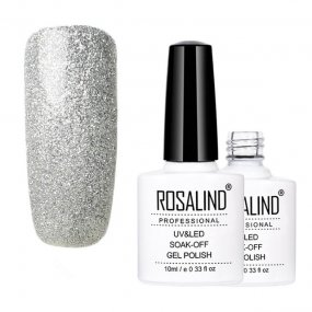 Classic Silver Color Nail Gel