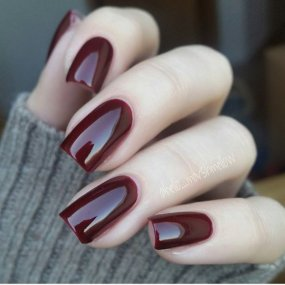Crimson Color Nail Gel