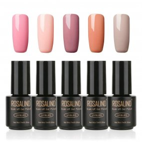 Gel Nail Polish  5 PACK,7ml(Nude)